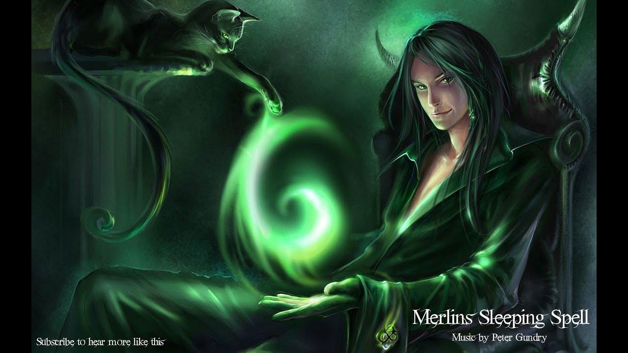 zzZ Magic Fantasy Sleep Music Zzz  Merlins Sleeping Spell  YouTube