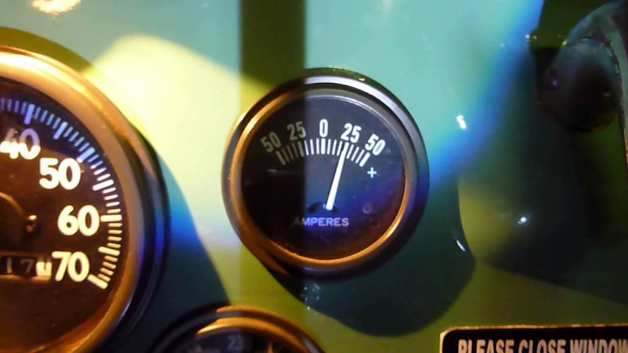 Amp Gauge Meter Volt 12