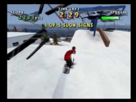 playstation 2 snowboarding games