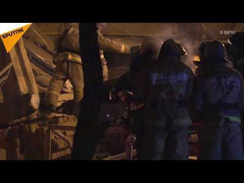 Gas Blast Rocks Block of Flats in Russian city of Magnitogorsk