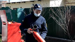 Рятувальники нагадують священнослужителям правила пожежної безпеки