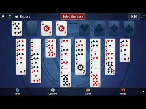 Microsoft Solitaire Collection: FreeCell - Expert - February 6, 2021