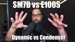 Shure SM7b vs CAD E100S - Dynamic vs Condenser