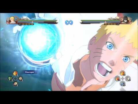 ALL RASENGAN PART 2 +DLC1 - Naruto Shippuden Ultimate Ninja Storm 4