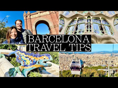 NEW: Top 14 Things to Know BEFORE Visiting BARCELONA: Travel Tips for 2020