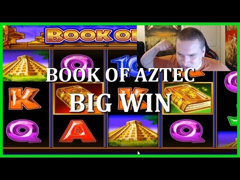 BOOM! BIG WIN ON BOOK OF AZTEC
