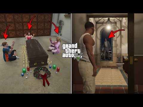 What Happens If You Visit Michaels House at 3:00 AM After He Dies in GTA 5? (Michaels Ghost)