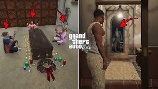 What Happens If You Visit Michael's House at 3:00 AM After He Dies in GTA 5? (Michael's Ghost) MP3