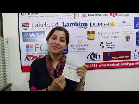 Canada Study Visa by Pyramid eServices for Ranjit