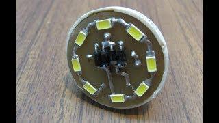 Светодиодная лампа Е14 своими руками./Led bulb E14 with their hands.(Решил собрать светодиодную лампу и у меня вышло не хуже чем купленная в Китае. Примерная цена вопроса около..., 2016-03-06T17:51:31.000Z)