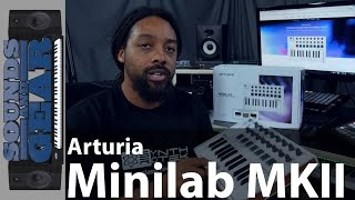 Arturia Minilab MKII Portable MIDI Controller Keyboard Review