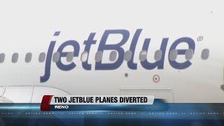 JetBlue planes diverted to Reno