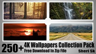 New 4k Wallpapers Collection Pack In Zip File
