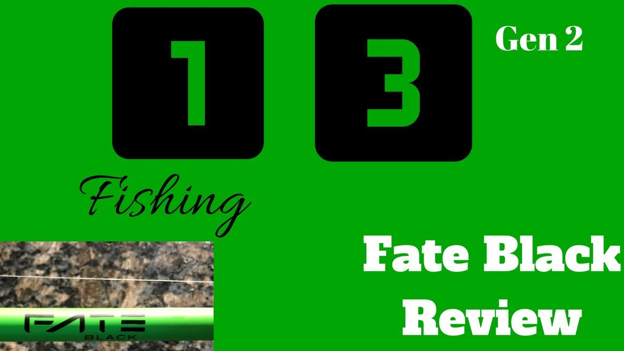 1ef6cf0945e 13 Fishing Fate Black Gen 2 Review! The BEST 99  Rod Around - YouTube