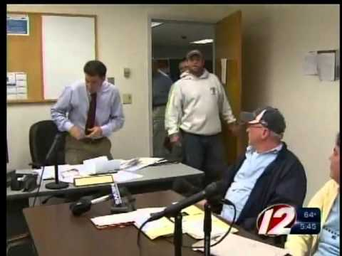 Tempers flare between fired contractor and homeowner