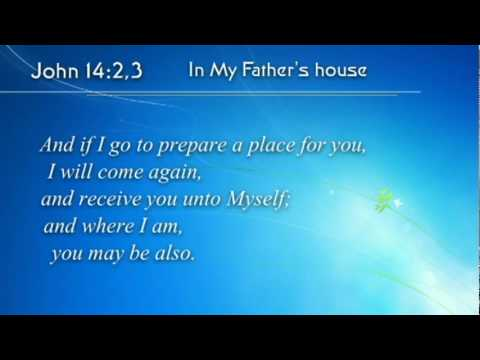 (Scripture Song) John 14:2,3 - In My Father's House