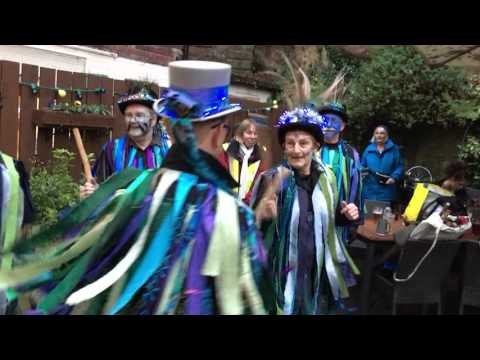 Bollin Morris at the Spread Eagle, Boxing Day 2015