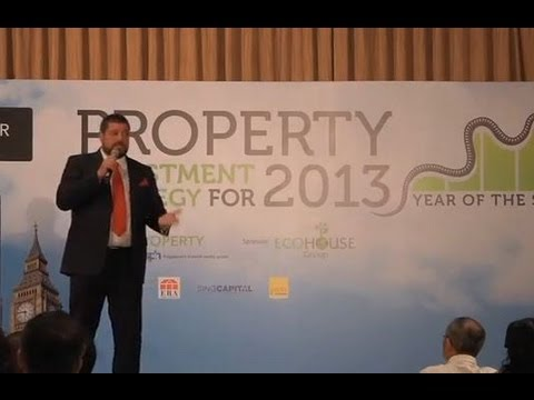 EcoHouse Brazil CEO Anthony Armstrong Emery Speaking at the ST Property Seminar in Singapore