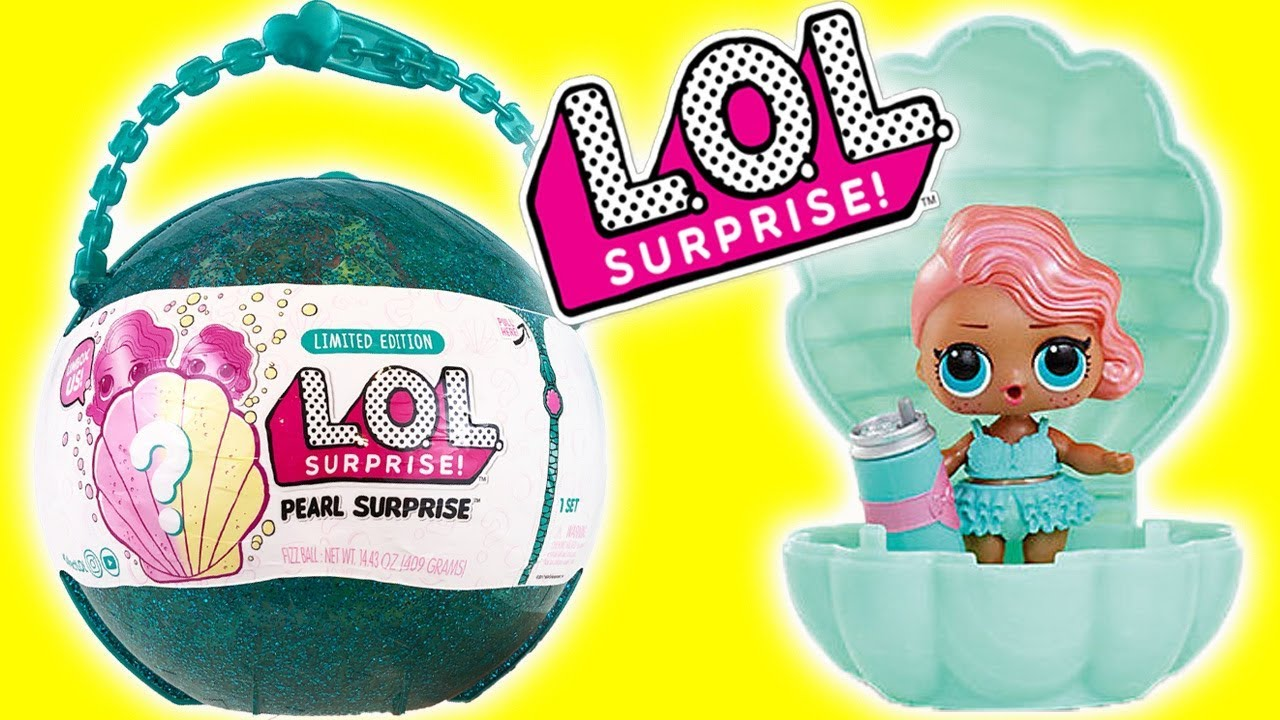 Lol Pearl Surprise Wave 1 Limited Edition Teal Lol