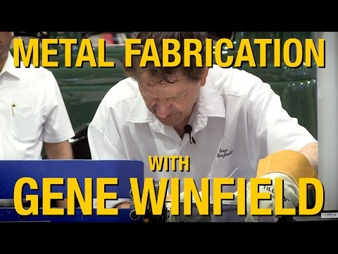 Forming Sheet Metal & Metal Forming Tools - Uses Explained By Gene Winfield at SEMA