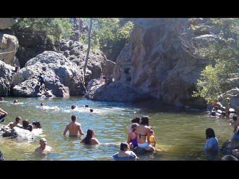 Malibu State Park - Rock Pool and Lake