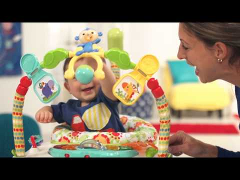 Fisher-Price Rainforest Friends Spacesaver Jumperoo Baby Bouncer | Toys R Us Canada