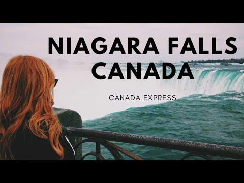 Trip To Niagara Falls Ontario Canada
