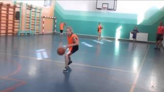 Ведение мяча тренировка