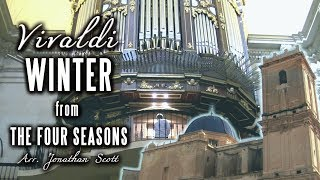 VIVALDI – WINTER (Four Seasons) Organ of Basílica de Santa María, Elche, Spain - JONATHAN SCOTT thumbnail