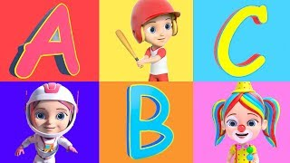 ABC Song | Fantasy Alphabet Song | Phonics Song | Nursery Rhymes & Kids Songs