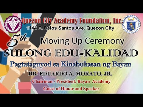 Grade 10 5th Moving Up Ceremony