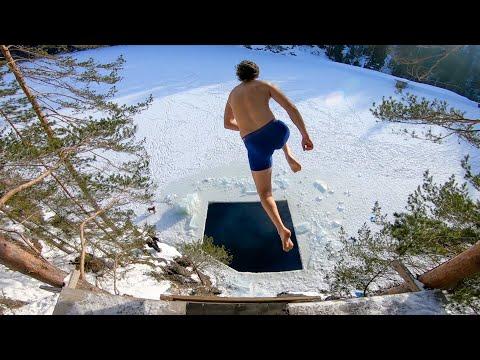 Dødser gjennom et hull i isen | Borgetjern