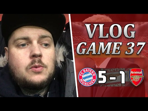 Bayern Munich 5 v 1 Arsenal | We Do Not Deserve This Anymore | Matchday Vlog | Game 37