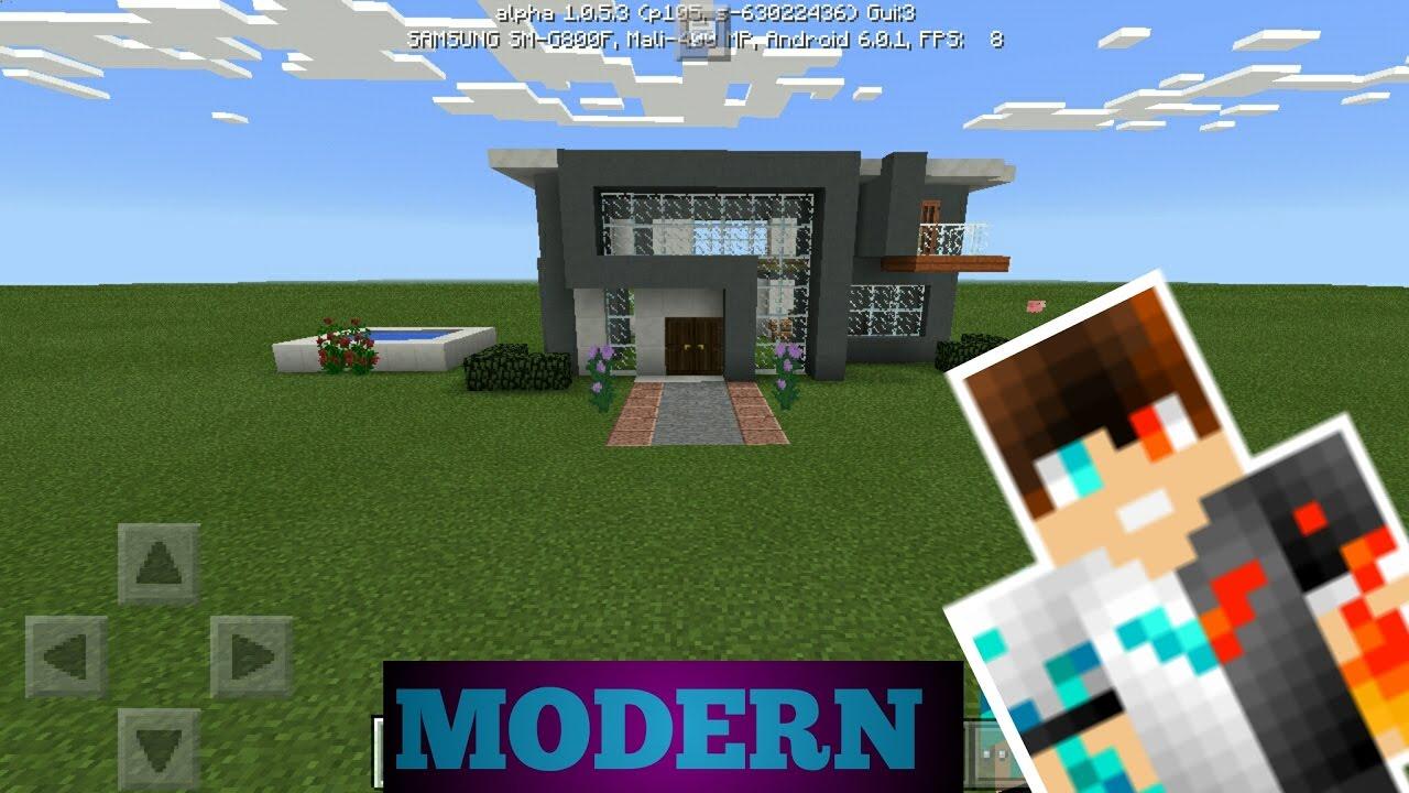 Modernes 2 stöckiges haus bauen grauer ton quartz