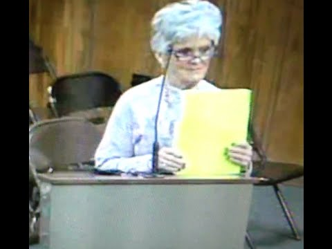 WIFE OF BIG LICK TRAINER APPEARS BEFORE PANAMA CITY BEACH CITY COUNCIL