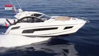 SUNSEEKER Portofino 40 essai bateau à moteur avec Maxiboat TV