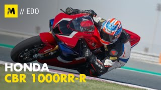 Honda CBR1000RR-R Fireblade SP TEST. R come Racing [English Sub.]