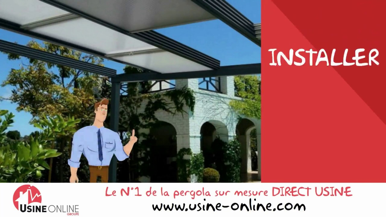 Comment Installer Une Pergola Toit Coulissant Youtube