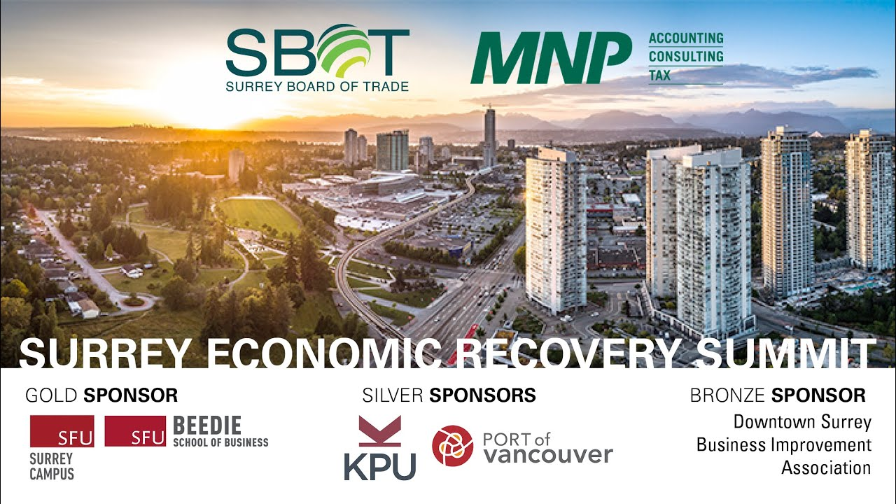 2020 Surrey Economic Recovery Summit Industry Leader Clips Day 1