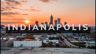 The city of indianapolis | downtown cinematic