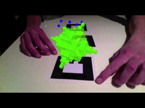 Spatial Programming for Industrial Robots based on Gestures and Augmented Reality
