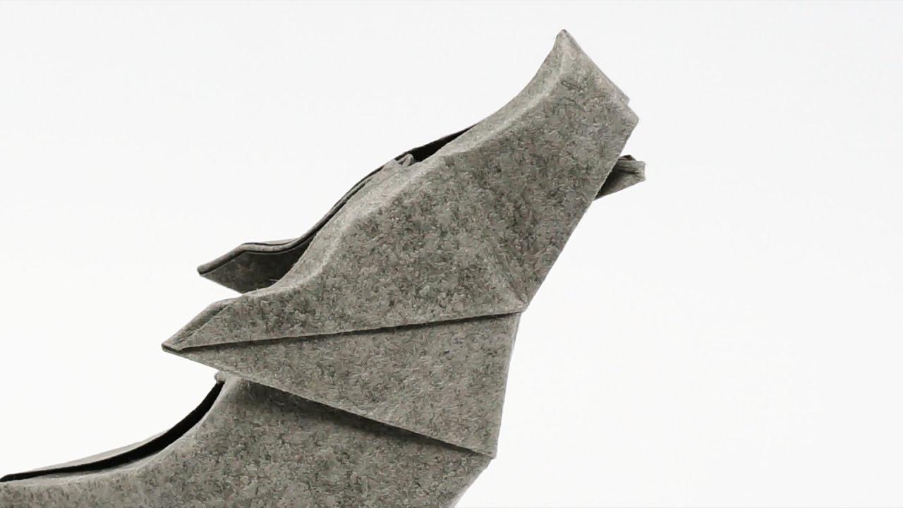Origami Wolf Jo Nakashima Camila Zeymer Time Lapse Youtube