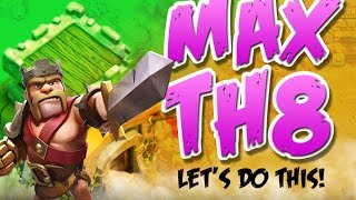 CLASH OF CLANS  ::  MAX TH8  ::  90 MILLION GOLD NEEDED