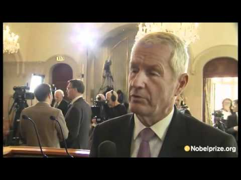 Interview about 2011 Nobel Peace Prize with Thorbjørn Jagland
