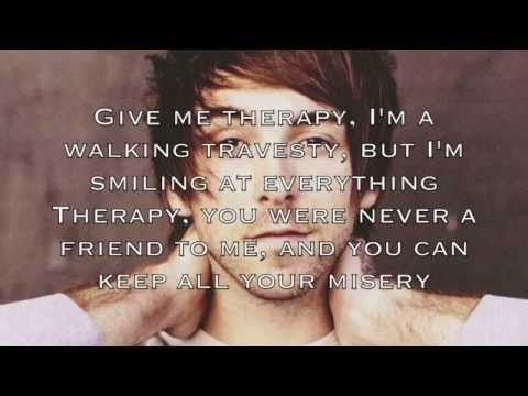 Piano Karaoke/Instrumental - Therapy - All Time Low with lyrics