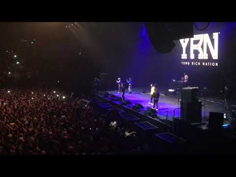 Migos - Quavo Calls Fan On Stage Auckland Concert Live Performance