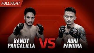 [HD] CELEBRITY MATCH : Randy Pangalila vs Adhi Pawitra || One Pride FN #33