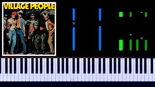 Village People - YMCA Piano Tutorial видео