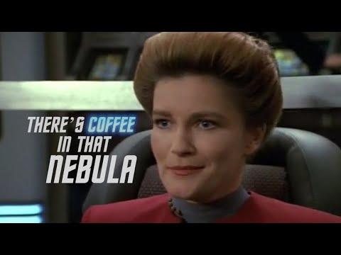 Captain Janeway Loves Her Coffee   Star Trek: Voyager