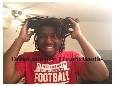 Dread Journey 1 Year 6 Months Dreads Taper Cut Undercut No